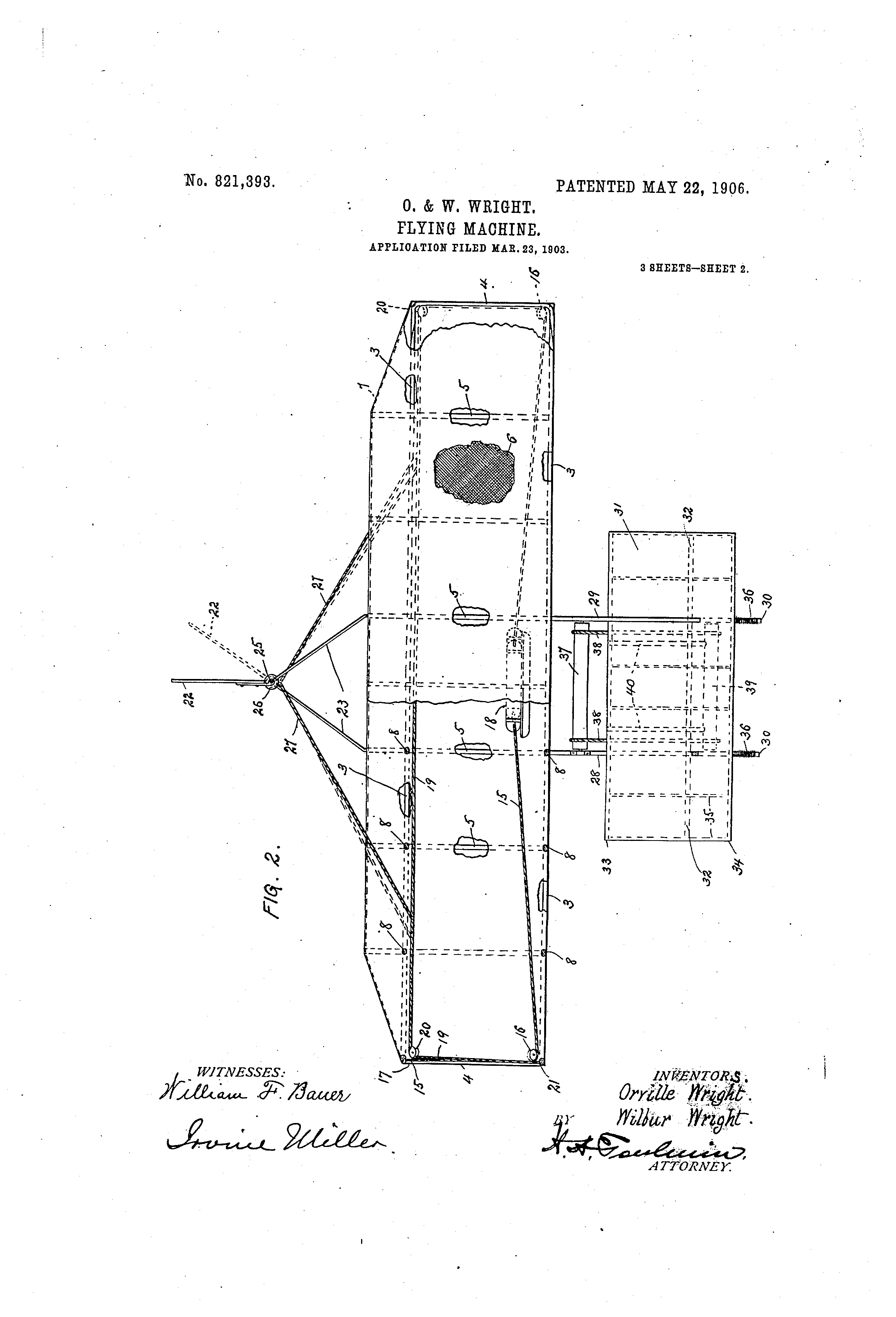 Flying Machine Patent